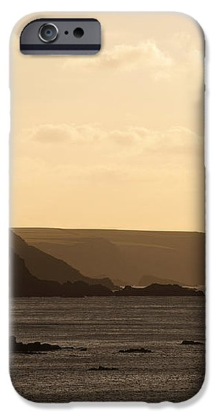 Headland iPhone Case by Anne Gilbert