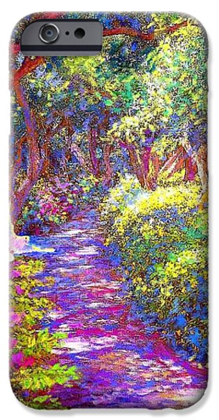 Healing Garden iPhone Case by Jane Small