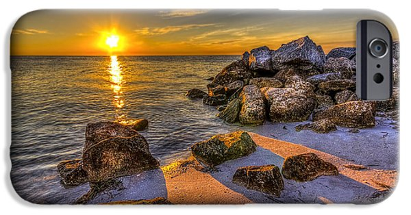 Gulf Of Mexico iPhone Cases - Healing Power iPhone Case by Marvin Spates