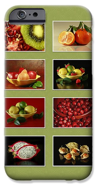 Healthy International Fruits Collection iPhone Case by Inspired Nature Photography By Shelley Myke