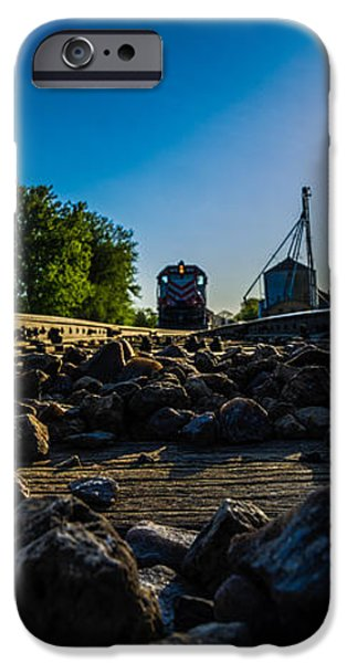 Hear My Train A Comin' iPhone Case by Randy Scherkenbach