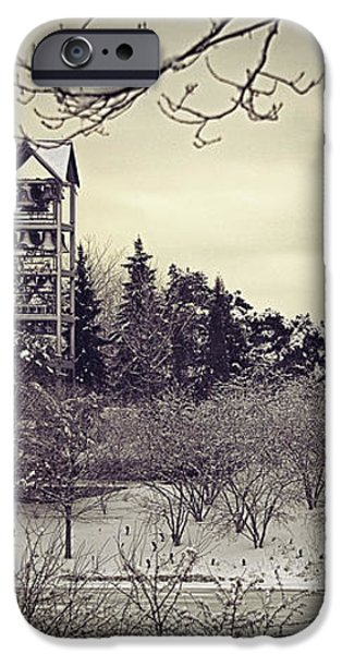 Hear the Carillon Bells iPhone Case by Julie Palencia