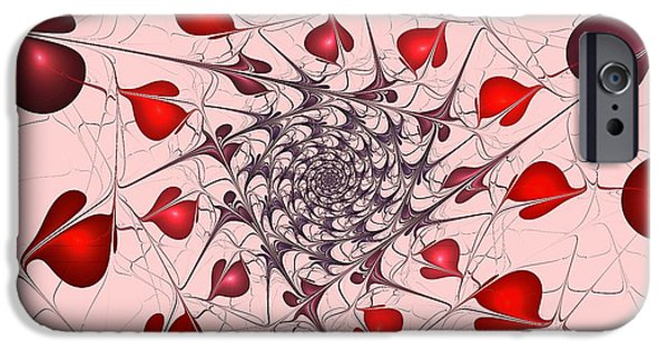 Pleasure iPhone Cases - Heart Catcher iPhone Case by Anastasiya Malakhova