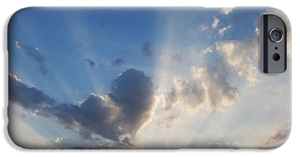 Nature Divine iPhone Cases - Heart Cloud iPhone Case by Tim Gainey