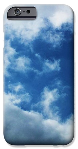 Heart in the Sky iPhone Case by Anna Villarreal Garbis