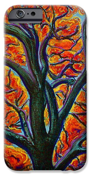 Rust Pastels iPhone Cases - Heart of it All iPhone Case by D Renee Wilson