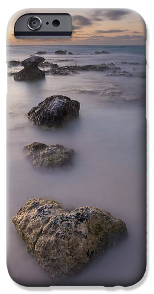 Nature Study iPhone Cases - Heart of Stone iPhone Case by Adam Romanowicz