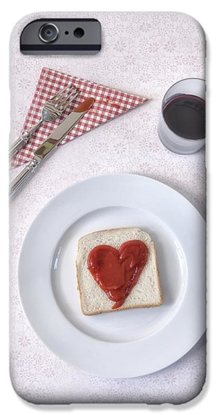Toasting iPhone Cases - Hearty Toast iPhone Case by Joana Kruse