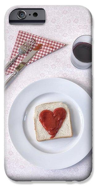 hearty toast iPhone Case by Joana Kruse