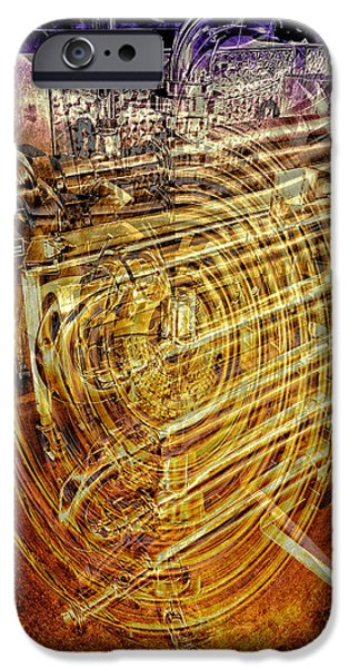 Technology iPhone Cases - Heat Exchanger iPhone Case by Claire Hull
