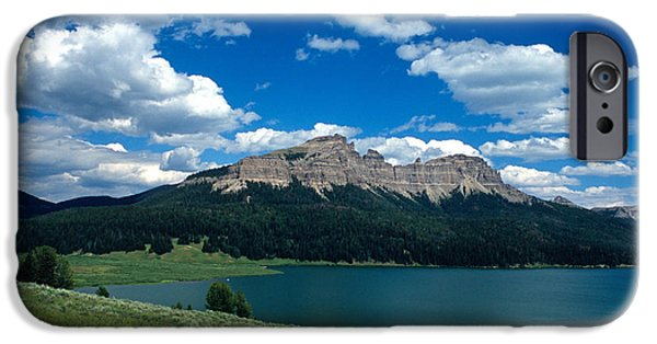 Landscape Framed Prints iPhone Cases - Heavenly Day iPhone Case by Kathy Yates
