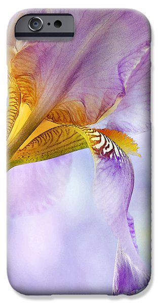 HEAVENLY IRIS 2 iPhone Case by Theresa Tahara
