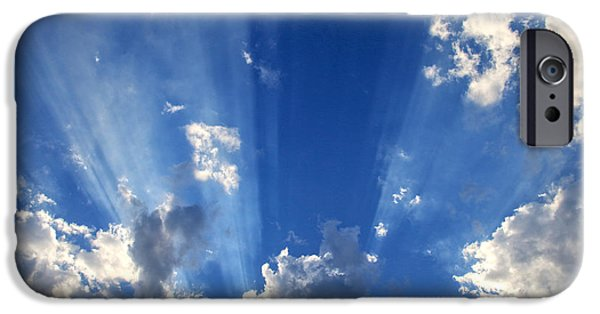 Miracle iPhone Cases - Heavenly Light iPhone Case by Nina Prommer