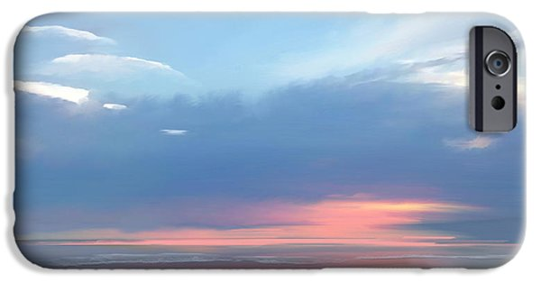 Seascape iPhone Cases - Heavenly morning iPhone Case by Anthony Fishburne