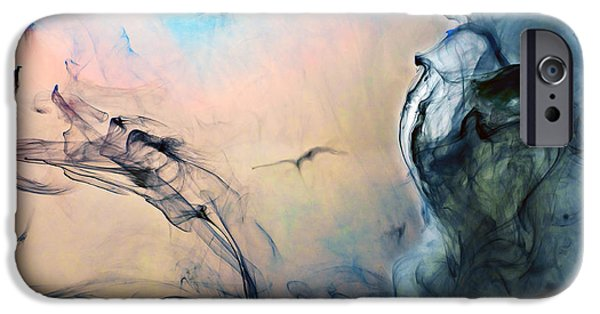 Angel Blues iPhone Cases - Heavenly  iPhone Case by Petros Yiannakas