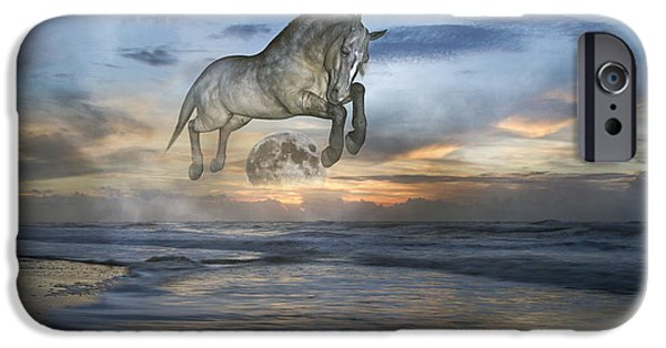 Storm iPhone Cases - Heavens in the Sky iPhone Case by Betsy A  Cutler