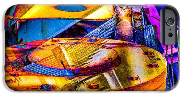 Hamburg Digital Art iPhone Cases - Heavy Duty IV iPhone Case by Andy Bitterer
