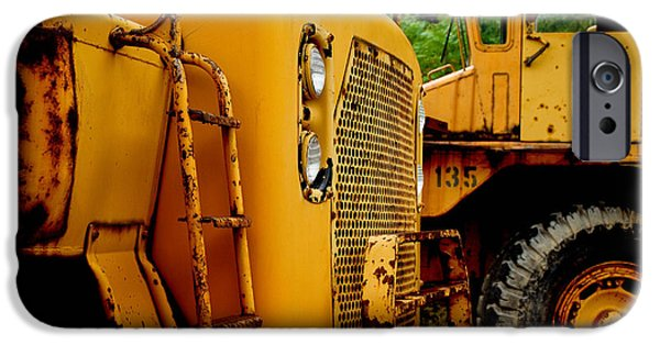 Construction Equipment iPhone Cases - Heavy Equipment iPhone Case by Amy Cicconi