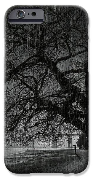 Heavy Rain iPhone Case by Svetlana Sewell