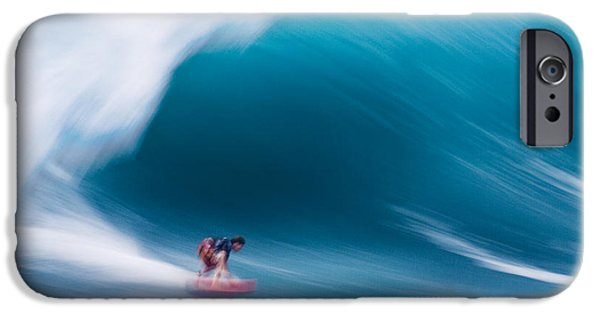 Power Photographs iPhone Cases - Heavy water Speed iPhone Case by Sean Davey