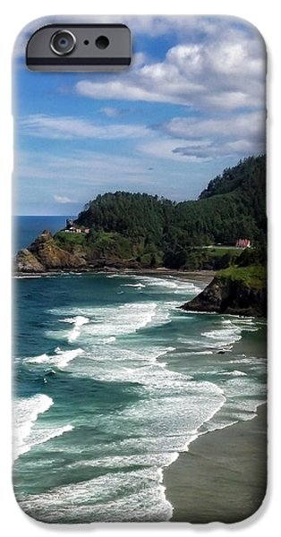 Heceta Head iPhone Case by Darren  White