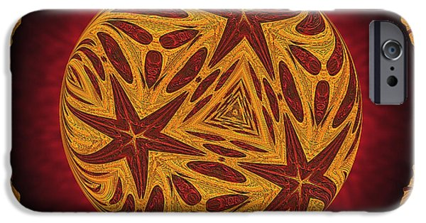 Business Digital iPhone Cases - Heliocentricity iPhone Case by Wendy J St Christopher