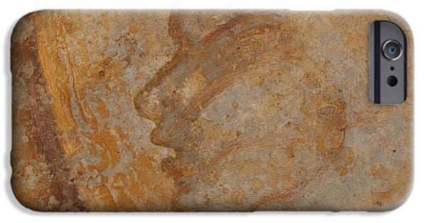 Ancient Reliefs iPhone Cases - Helios iPhone Case by Claire Cundiff