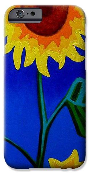Flower Art Prints iPhone Cases - Heliotrope iPhone Case by John  Nolan