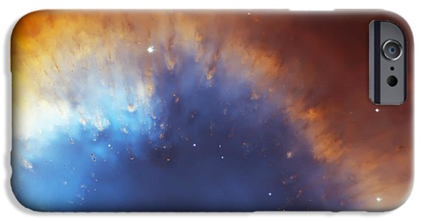 The Hatchery iPhone Cases - Helix Nebula Close Up iPhone Case by The  Vault - Jennifer Rondinelli Reilly
