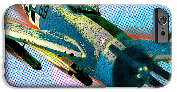 Warhol Art iPhone Cases - Hell Diver iPhone Case by Gary Grayson