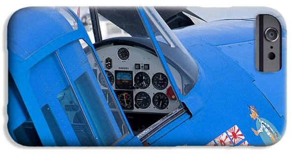 Flight iPhone Cases - Hellcat iPhone Case by Adam Romanowicz