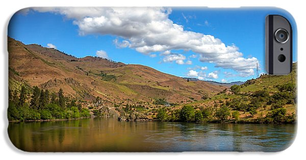 Deep River iPhone Cases - Hells Canyon iPhone Case by Robert Bales