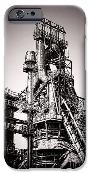 Blight iPhone Cases - Helter Smelter iPhone Case by Olivier Le Queinec