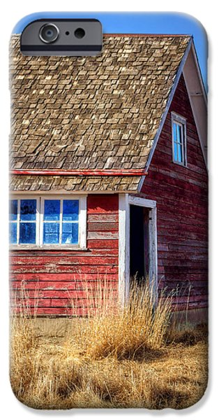 Nebraska iPhone Cases - Hen House #1 iPhone Case by Nikolyn McDonald