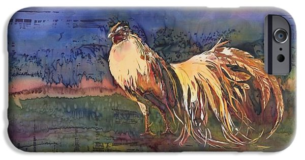 Birds Tapestries - Textiles iPhone Cases - Henry iPhone Case by Carolyn Doe