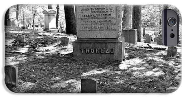 Henry David Thoreau iPhone Cases - Henry David Thoreau Transcendent  iPhone Case by Dwight Pinkley