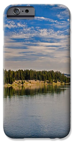 Henry Fork of Snake River II iPhone Case by Robert Bales