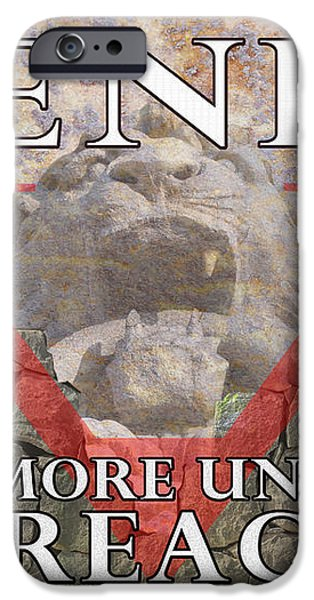 Henry V Shakespeare Play Advertisement iPhone Case by