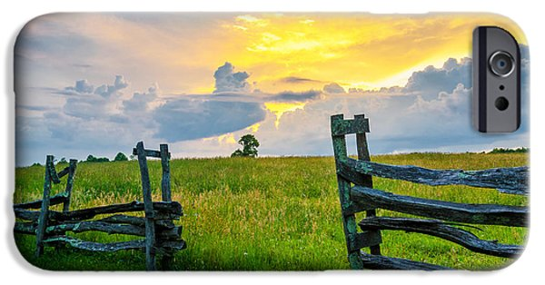 Split Rail Fence iPhone Cases - Rapture iPhone Case by Anthony Heflin