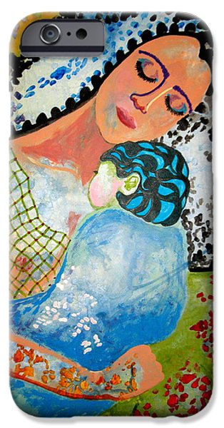 Amy Sorrell iPhone Cases - Her Love iPhone Case by Amy Sorrell