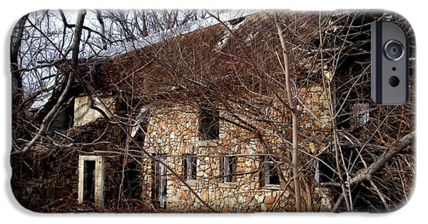 Old Barns iPhone Cases - Her Majesty iPhone Case by Janine Riley