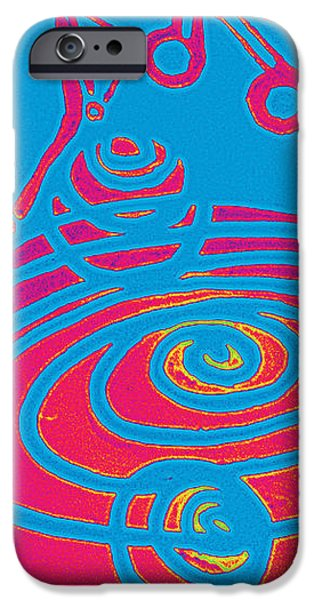 Her Navel Electric Vibrates Pulsates  iPhone Case by Feile Case