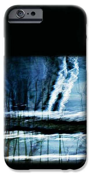HER WATERY GRAVE iPhone Case by Theresa Tahara
