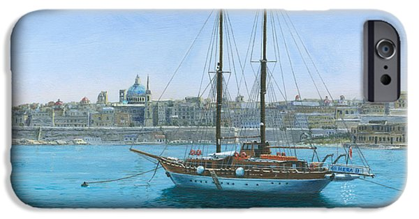 Hera iPhone Cases - Hera 2 Valletta Malta iPhone Case by Richard Harpum