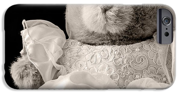 Stuffed Animal iPhone Cases - Here Comes the Bride iPhone Case by Edward Fielding