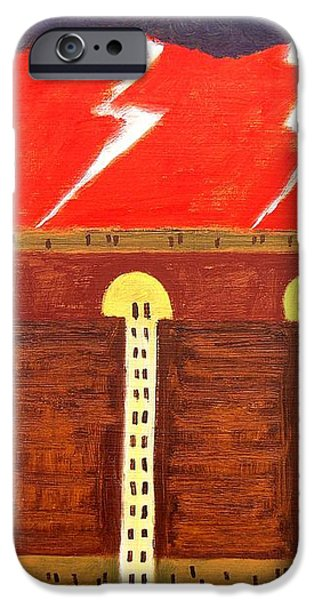 HERE COMES THE FLOOD iPhone Case by Patrick J Murphy