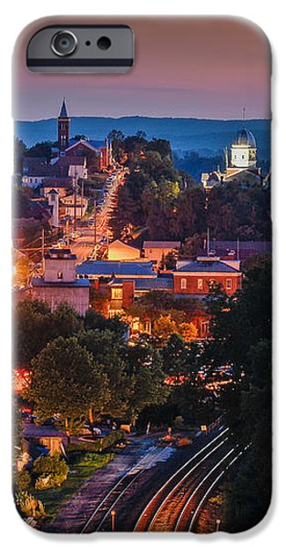 Hermann Missouri - a most beautiful town iPhone Case by Tony Carosella