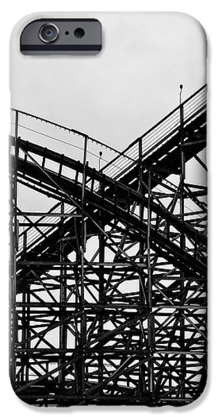 Hershey iPhone Cases - Hershey Park RollerCoaster iPhone Case by Bill Cannon