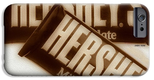 Hershey iPhone Cases - Hersheys iPhone Case by Cheryl Young