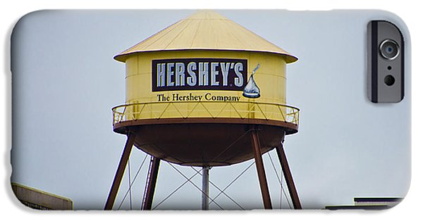 Hershey iPhone Cases - Hersheys Water Tower iPhone Case by Bill Cannon